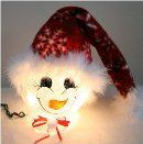 Product and Ordering Information for Snowflake Snowman Nightlight
