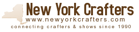 A listing of crafters within New York State